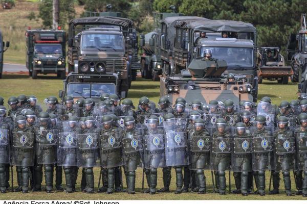Cerca de três mil militares serão responsáveis pela segurança na Copa em contexto de Garantia da Lei e da Ordem