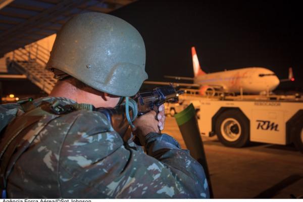 O treinamento ocorreu em Curitiba e faz parte da Operação Araucária