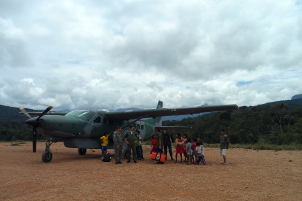 Localização isolada da aldeia só permite acesso pelo Caravan C-98 da BABV  BABV