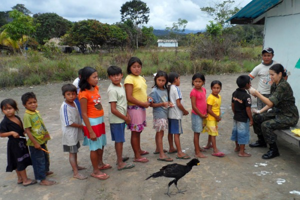 BABV leva atendimento médico a Aldeia Indígena de Roraima  BABV