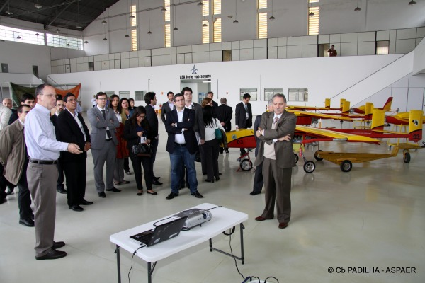No roteiro da visita: as Organizações Militares da FAB, o DCTA e a Escola de Especialistas, além da EMBRAER