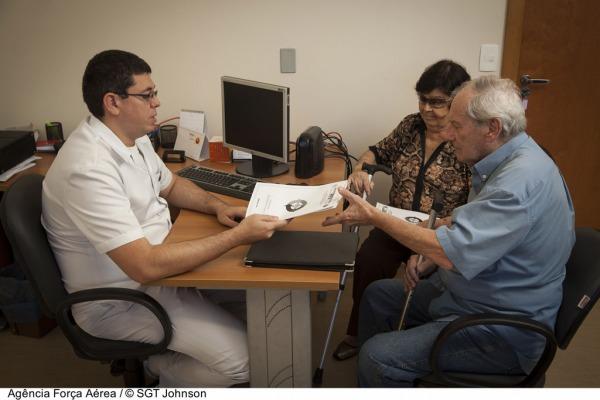 Os beneficiários recebem atendimento ambulatorial  Sgt Jonhson/Agência Força Aérea