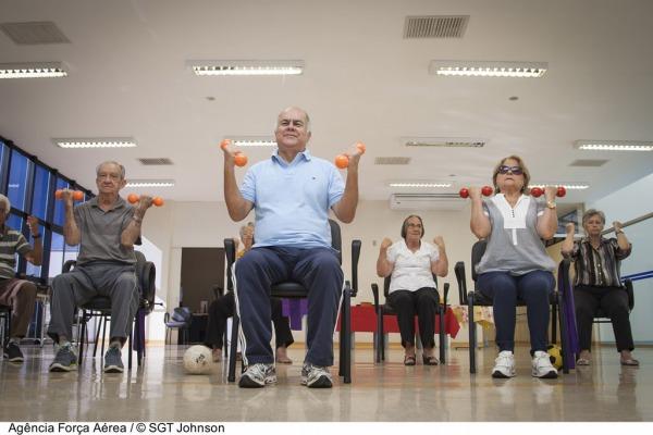 A Unidade de Geriatria e Gerontologia do HFAB atende cerca de 400 idosos