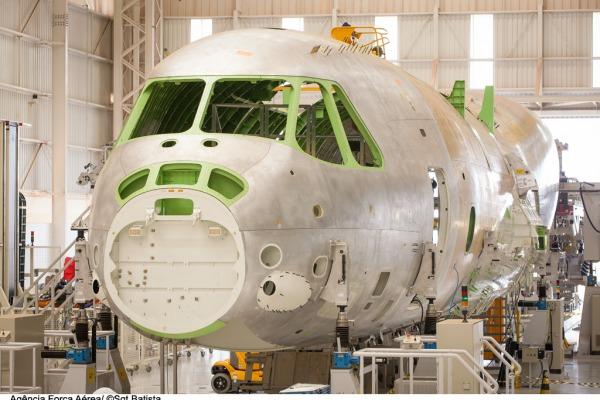 Primeiro protótipo do KC-390  Sgt Bruno Batista / Agência Força Aérea
