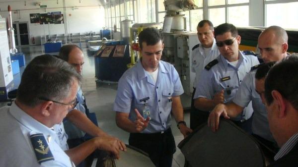 10. Visita ao Museu Aeroespacial Brasileiro  Oficial-Aluno