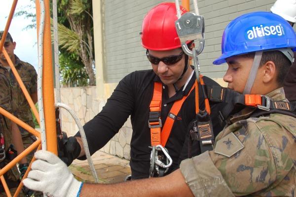 Semana Interna de Prevenção de Acidentes tem o objetivo de conscientizar militares e servidores civis sobre saúde e segurança no trabalho