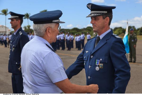 A cerimônia, organizada pela II FAE, contou com a presença dos Oficiais-Generais do Alto-Comando da Aeronáutica