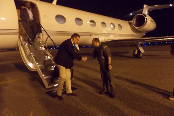 Comandante recebe o Secretário da FIFA  S2 Jardel Lopes da Silveira / BAFZ