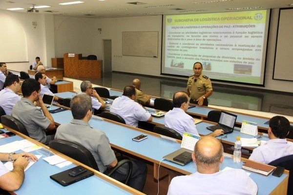 Sobre temas relevantes para a carreira dos militares, palestras foram ministradas para Oficiais-alunos da Escola de Comando e Estado-Maior da Aeronáutica