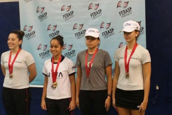 Militares da FAB são destaque em competição de Badminton  Arquivo dos atletas