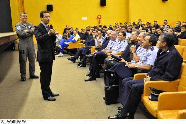 Ciclo de palestras contou com a participação do Tribunal de Contas da União  S1 Wallid/AFA
