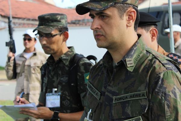 O estágio contou com a participação de 24 alunos, dos quais, quatro são militares da FAB