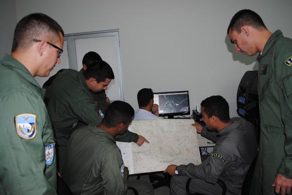 Planejamento de Aerolevantamento  Sgt Molina/Esquadrão Carcará