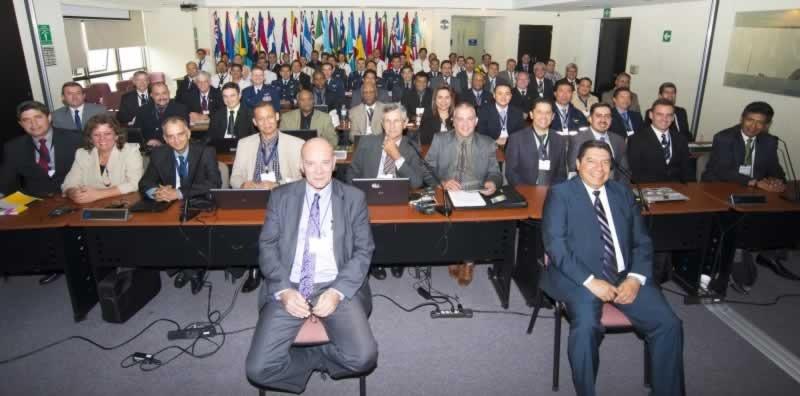 Evento contou com a presença de representantes da América do Norte, Caribe e América do Sul, pertencentes à Organização de Aviação Civil Internacional