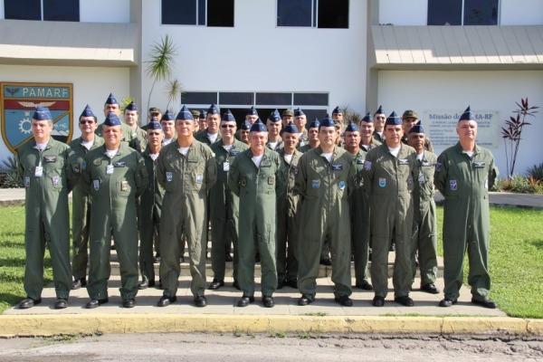 Foto inaugural da RESISLOG  2S Galvão