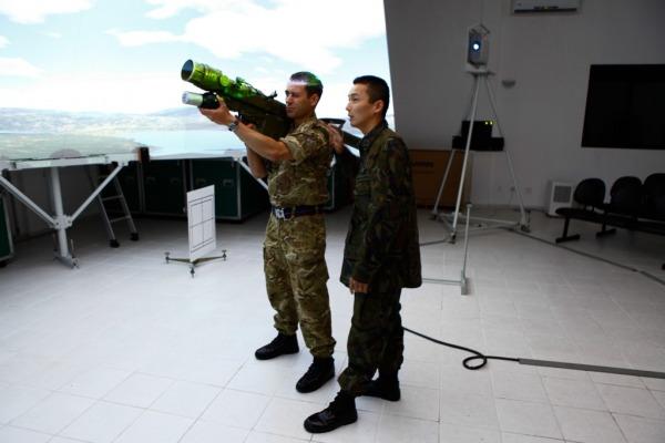 Britânicos conheceram simulador do míssel Igla-S  BACO