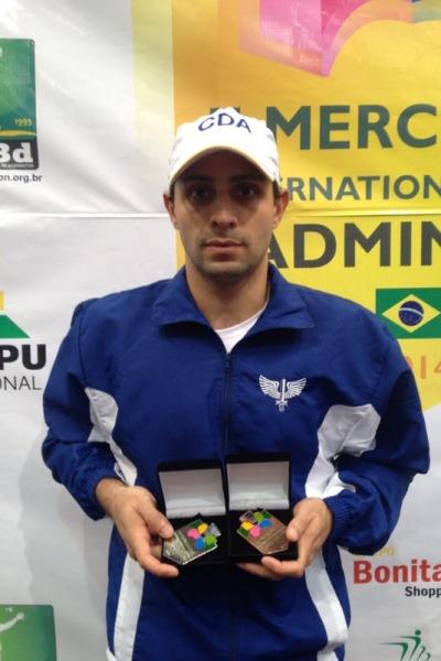 II Mercosul Internacional Series, realizado em Foz do Iguaçu (PR), acabou com nove medalhas para a FAB
