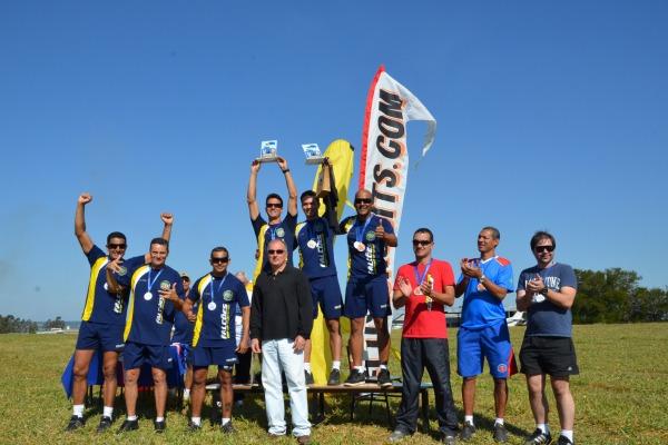 A Equipe Falcões conquistou a primeira colocação na II Copa Brasil de Precisão