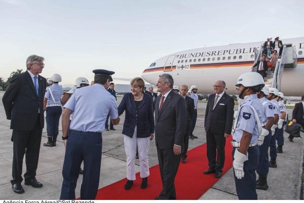 Também passaram pela Base os Chefes de Estado da Rússia, África do Sul, Namíbia e Catar