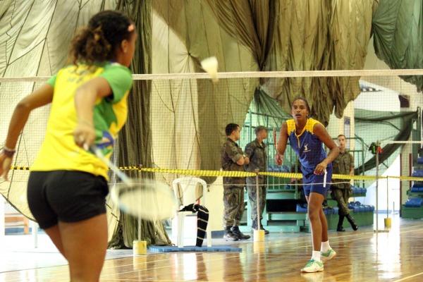 Militares da Força Aérea foram destaque do II Torneio Aberto de Badminton
