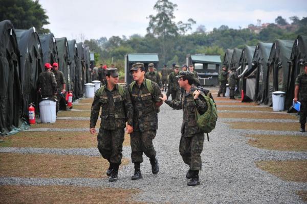 Estruturas são usadas em missões de ajuda humanitária e operações em bases deslocadas