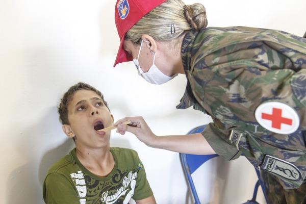 Catorze militares realizaram mais de 200 atendimentos na Serra do Cachimbo