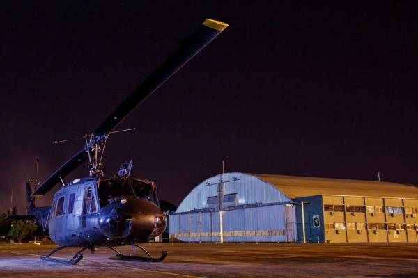 H-1H de alerta na Base Aérea de Campo Grande  Sgt Johnson Barros / Agência Força Aérea