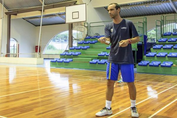 Marco Vasconcelos, técnico da seleção brasileira de badminton  Agência Força Aérea/ Sgt Rezende