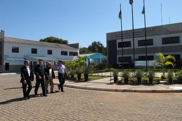 Secretário-Geral do MD visita SDAB  S2 Rocha / COMAR IV