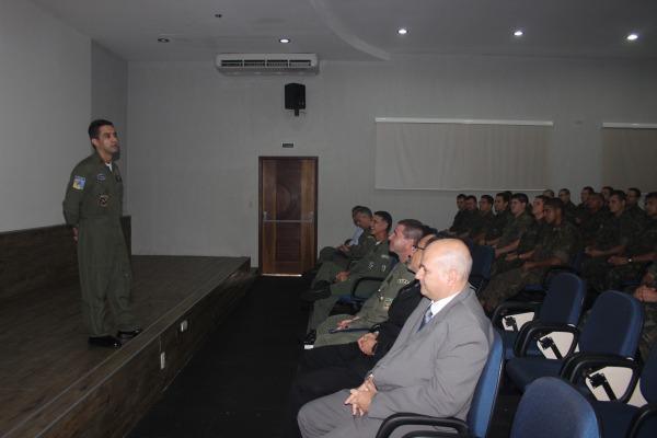 Comandante do GITE no CDAAe 2014  S2 Abreu