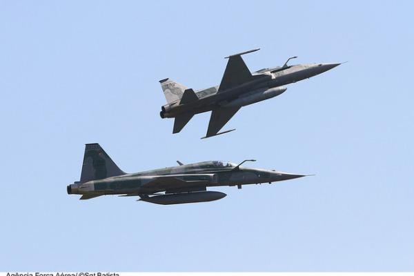 Caças F-5M vão combater em ambiente BVR  Sgt Bruno Batista / Agência Força Aérea