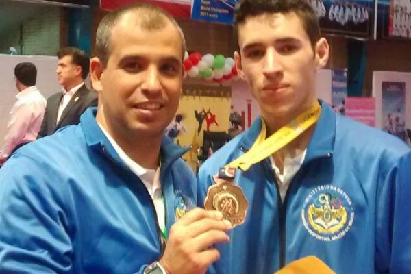 Militar de Natal (RN) foi o único brasileiro a participar do campeonato realizado no Irã