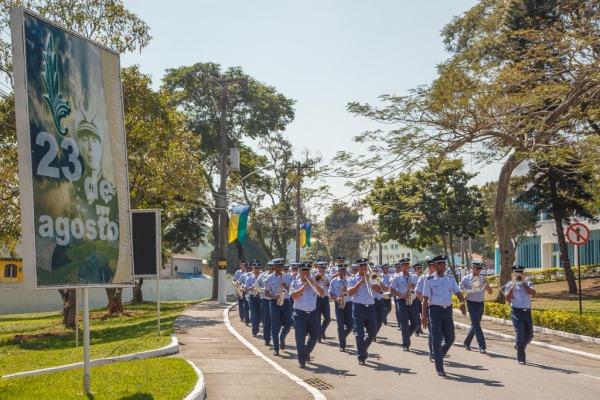 Desfile da tropa  Sgt Johnson Barros / Agência Força Aérea
