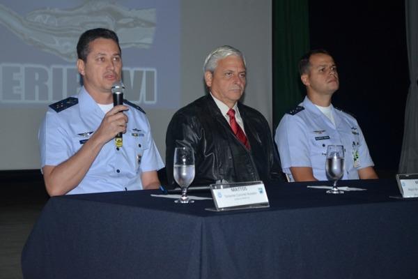 Abertura do V Seminário de Segurança de Voo   Sgt Flávio Santos