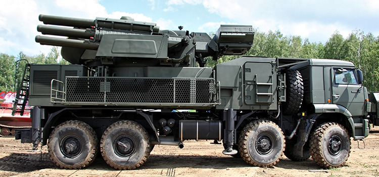 Sistema Pantsir  Rosoboronexport