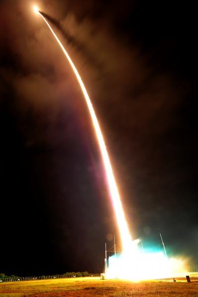 Lançamento foi realizado na noite de segunda (01) a partir do Centro de Lançamento de Alcântara, no Maranhão