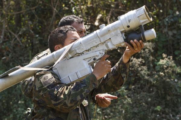 Treinamento faz parte da Operação CSAR 2014, exercício que simula resgate em combate