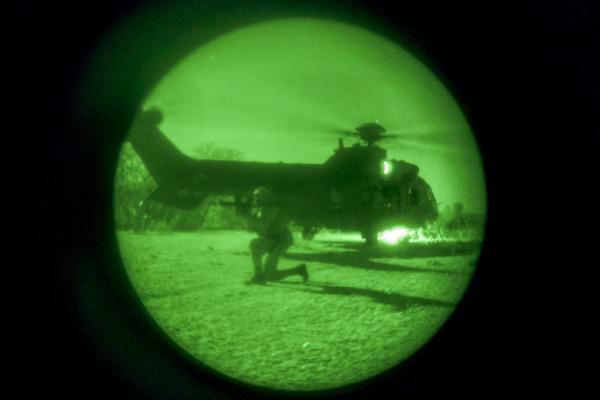 Ação aconteceu durante exercício de Busca e Salvamento em Combate