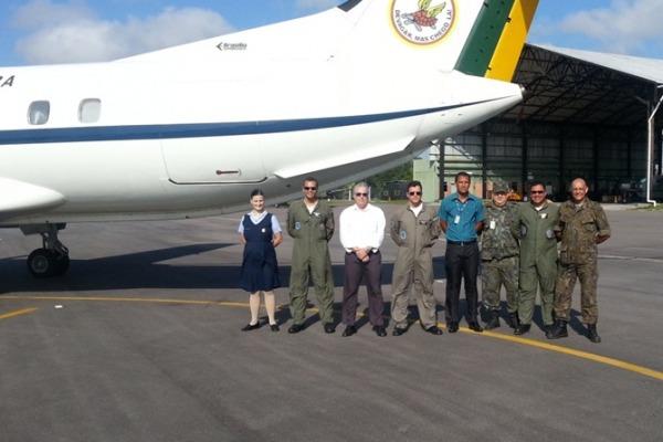 Vistoria à Base Aérea de Belém durou cinco dias