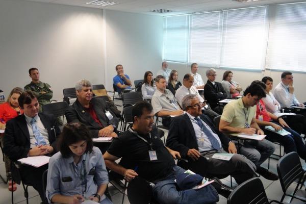 Palestra para profissionais do aeroporto  SERIPA III