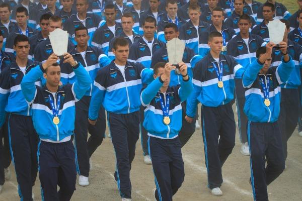 500 atletas participaram da 46ª edição da NAE. Em 2015, a competição será realizada na EsPCEx
