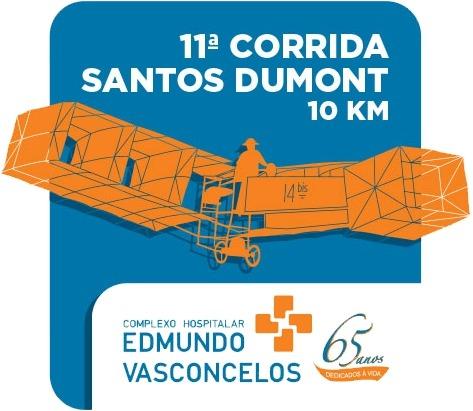 11ª Corrida Santos Dumont em São Paulo  Divulgação