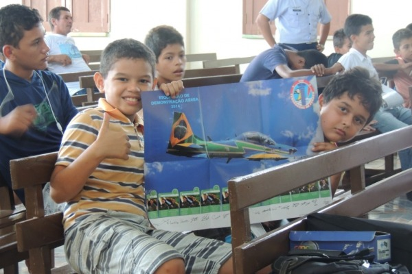 O CLA apresentou ao público réplicas de foguetes e detalhes do Programa Espacial Brasileiro