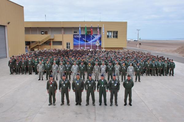 Exercício reúne mais de 800 militares de 5 países  Fuerza Aérea de Chile