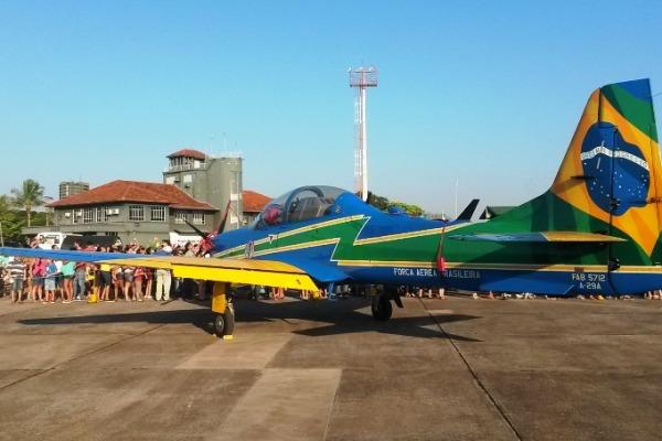 Bases de Santa Maria, Canoas e Boa Vista abrem as portas para a população, que conhecerá de perto aeronaves utilizadas pela FAB