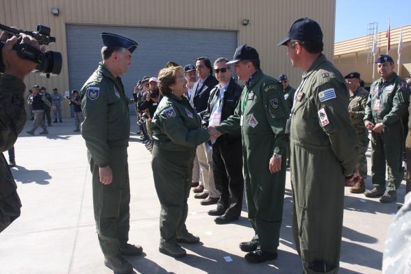 Exercício permite desenvolver capacidade de cooperação internacional, destaca subsecretário de defesa