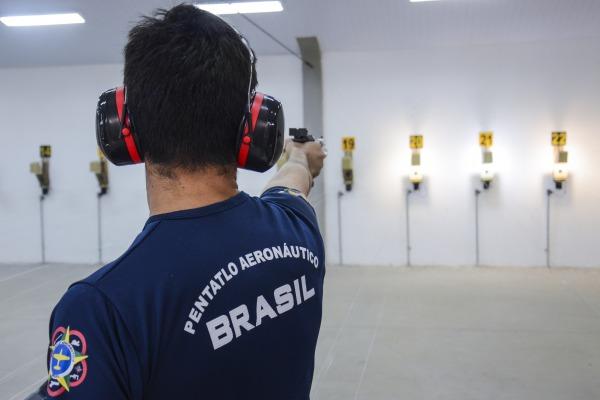 Equipe do Brasil é formada por militares da Força Aérea Brasileira  Cb Diego/AFA