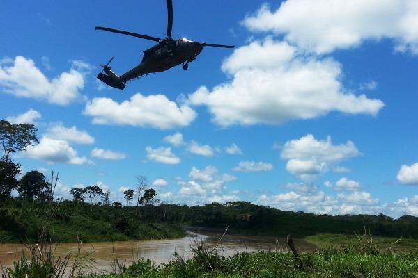Local fica às margens do rio Envira  Agência Força Aérea