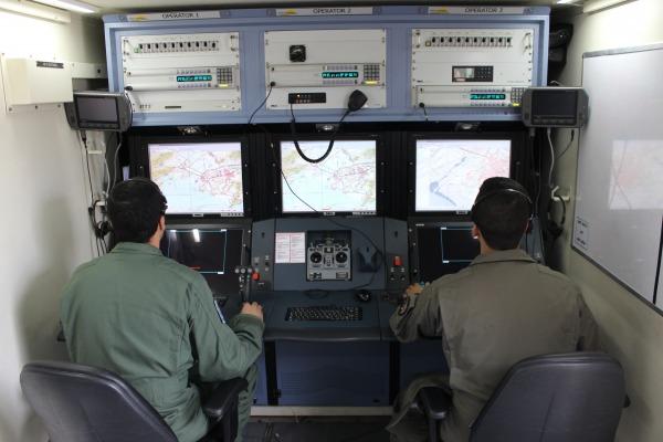 Estação de Controle da ARP RQ-900     1º/12º GAV