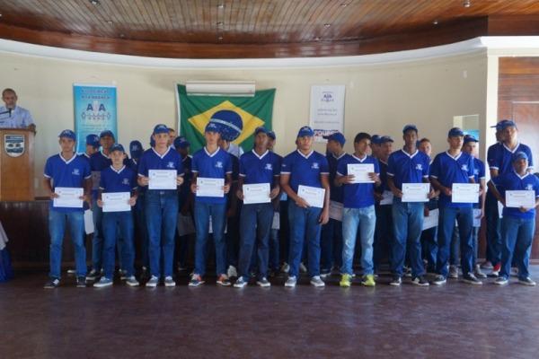 O objetivo é estimular nos jovens a formação da cidadania